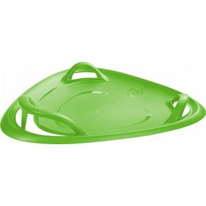 Санки-ледянка Gismo Riders трехугольные с ручками Meteor 70 (зеленый) (1373656)