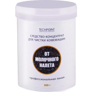 Чистящее средство Techpoint для кофемашин, чистки молочной системы, концентрат, 200 г