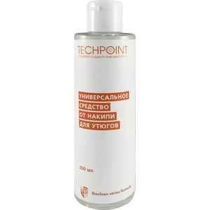 Чистящее средство Techpoint для утюгов, для удаления накипи, концентрат, 200 мл чистящее средство techpoint для сантехники гель концентрат 750 мл