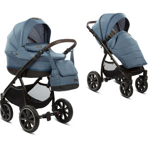 Коляска 2 в 1 Noordi Sole Sport NEW(Denim 830) (123352) цена