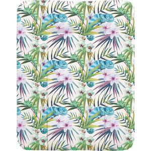 Пеленальный матрас Ceba Baby 70x50 см Flora Fauna мягкий на комод W-143(Camaleon Blanco W-143-099-542) (123757)
