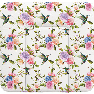 Пеленальный матрас Ceba Baby 70x75 см Flora Fauna мягкий на комод W-144(Flores W-144-099-546) (123775) bridal flower headband garland artificial wedding bouquets fabric flowers hair accessories flores decorations casamento wigo0814