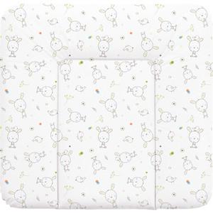 Пеленальный матрас Ceba Baby 70x75 см мягкий на комод W-144(W-144-903-100 Dream Roll-over white) (123840)