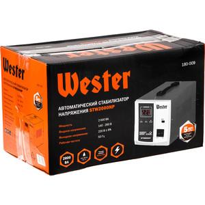 Стабилизатор напряжения Wester STW2000NP wester ch15