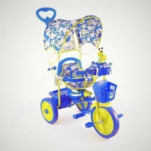 цена Велосипед трехколёсный Jaguar MS-0537 синий