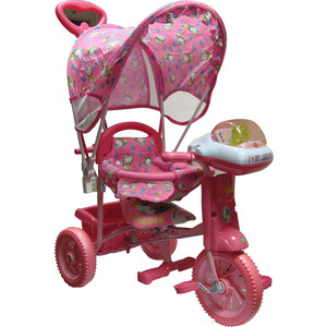 купить Велосипед трехколёсный Jaguar MS-0547 розовый по цене 2035 рублей