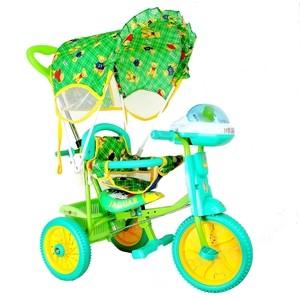 Велосипед трехколёсный Jaguar MS-0747 зеленый