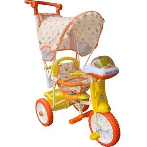 Велосипед трехколёсный Jaguar MS-0747 оранжевый