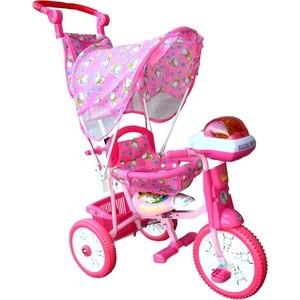 Велосипед трехколёсный Jaguar MS-0747 розовый