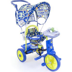 Велосипед трехколёсный Jaguar MS-0747 синий