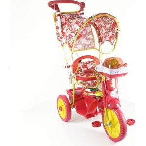 Велосипед трехколёсный Jaguar MS-0747K красный