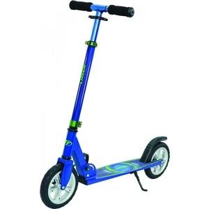 Самокат 2-х колесный Tech Team Laser синий самокат 2 х колесный amigo target синий