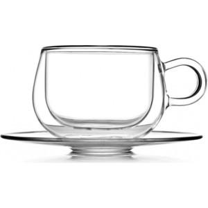 Чашка с блюдцем 0.25 л Walmer Viscount (W23009081) чашка с блюдцем walmer viscount 225мл двойная стенка термостекло