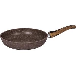 Сковорода со съемной ручкой 30 см Мечта Бриллиант Brown (030876) сковорода со съемной ручкой d 26 см мечта бриллиант brown 026876