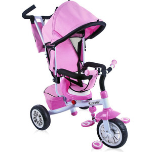 Велосипед трехколесный Lorelli Розово-белый / Pink&White 1603 (10050091603)