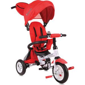 Велосипед трехколесный Lorelli Matrix надувные колеса Красный / Red 0004 (10050324)