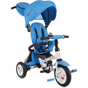Велосипед трехколесный Lorelli Matrix надувные колеса Светло-синий / Light Blue 0006 (10050326)