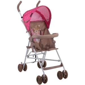Коляска трость Lorelli Light / Бежево-розовый Biege&Pink Girl 1834 (10020471834)