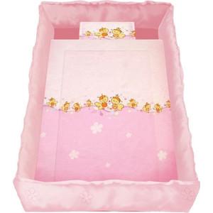 Комплект в кроватку Lorelli Lily 60х120 Розовый / Pink 2005015 платье lily