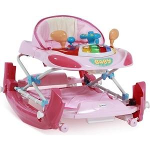 Ходунки-качалка Lorelli EB W1224 CE / Розовый / Pink 0002 (10120372) ходунки ходунки capella bg 213 розовый