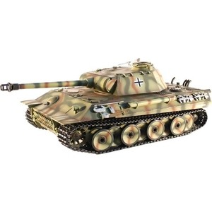 Радиоуправляемый танк Taigen German Panther Pro масштаб 1:16 2.4G - TG3819-1PRO радиоуправляемый танк taigen german tiger 1 metal edition late version масштаб 1 16 2 4g