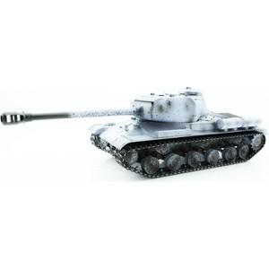 Радиоуправляемый танк Taigen ИС-2 модель 1944, СССР, (для ИК танкового боя) (зимний) RTR масштаб 1:16 2.4G - TG3928-1S-IR taigen kv 1 hc металл 2 4ghz ик