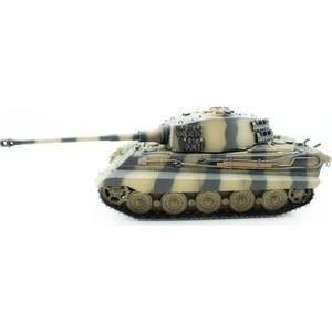 Радиоуправляемый танк Torro King Tiger (башня Henschel) ИК-пушка, деревянная коробка RTR масштаб 1:16 2.4G - TR1112200700 все цены