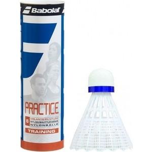 Воланы для бадминтона Babolat Practice 562005 (6 шт) средняя скорость