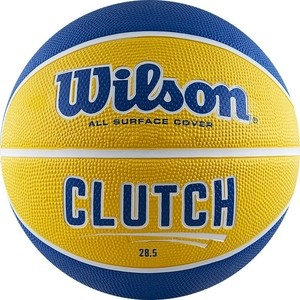 все цены на Баскетбольный мяч Wilson Clutch 285 WTB14198XB06 р.6 онлайн