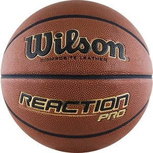 все цены на Баскетбольный мяч Wilson Reaction PRO WTB10137XB07 р.7 онлайн