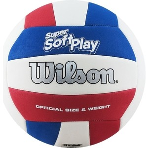 Мяч волейбольный Wilson Super Soft Play WTH90219XB р.5