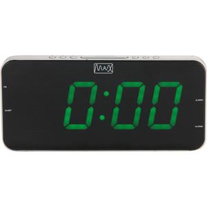 Радиоприемник MAX CR-2909 часы с радиоприёмником max cr 2909 серебристый чёрный