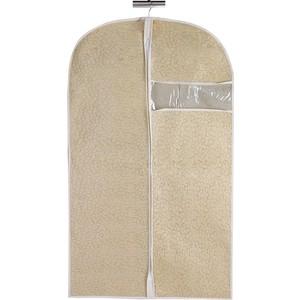 чехол для одежды handy home лен uc 25 60х100 см Чехол для одежды Handy Home Геометрия, Д1000 Ш600, бежевый, соломенный