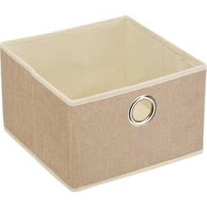чехол для одежды handy home лен uc 25 60х100 см Короб для хранения Handy Home Лен Д280 Ш280 В180, песочный