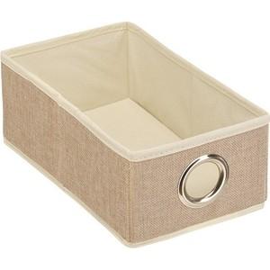 Короб для хранения Handy Home Лен Д280 Ш160 В110, песочный