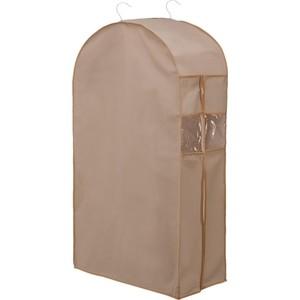 Кофр Handy Home подвесной для одежды Вельвет, Д1000 Ш600 В300, серый