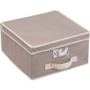 Короб для хранения Handy Home Вельвет, Д300 Ш300 В170, серый