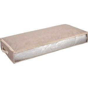 Кофр Handy Home для хранения Вельвет, Д1000 Ш450 В150, серый кофр для хранения el casa плетение 35 30 20 см коричневый