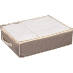 Кофр Handy Home для хранения Вельвет, Д500 Ш400 В150, серый