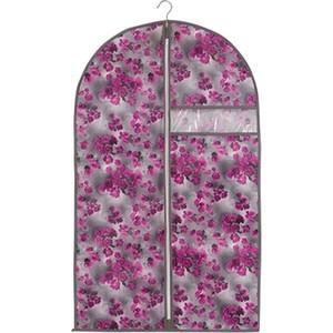 чехол для одежды handy home лен uc 25 60х100 см Чехол для одежды Handy Home Роза, Д1000 Ш600, розово-серый