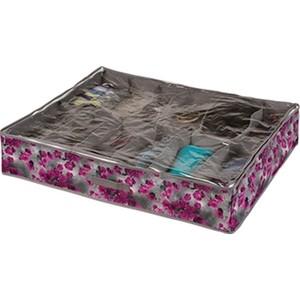 Короб Handy Home органайзер Роза 12 секций, Д750 Ш600 В150, розово-серый