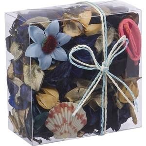 Набор сухоцветов ВеЩицы из натуральных материалов, с ароматом морского бриза, Д115 Ш115 В60, короб