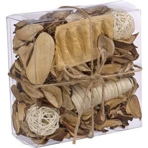 Набор сухоцветов ВеЩицы из натуральных материалов, с ароматом ванили, Д130 Ш130 В60, короб bioritm eros fantasy 50 мл с ароматом ванили