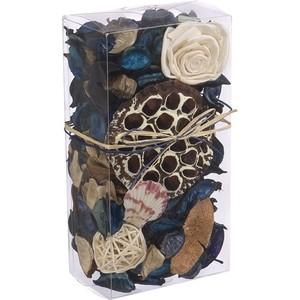 Набор сухоцветов ВеЩицы из натуральных материалов, с ароматом морского бриза, Д200 Ш105 В60, короб