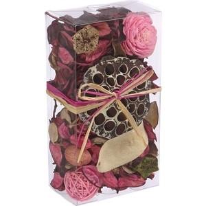 Набор сухоцветов ВеЩицы из натуральных материалов, с ароматом розы, Д200 Ш105 В60, короб