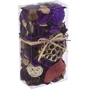 Набор сухоцветов ВеЩицы из натуральных материалов, с ароматом лаванды, Д200 Ш105 В60, короб