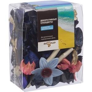 Набор сухоцветов ВеЩицы из натуральных материалов с ароматом морского бриза, Д95 Ш60 В120, пакет