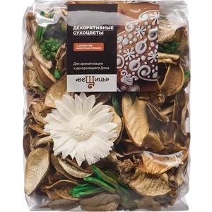 Набор сухоцветов ВеЩицы из натуральных материалов, с ароматом Имбирный пряник,Д130 Ш60 В110, пакет