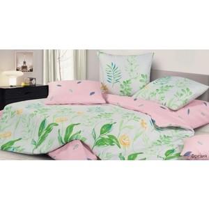 Комплект постельного белья Ecotex семейный, сатин, Гармоника Фрезия (4650074957937)