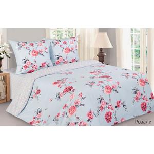 Комплект постельного белья Ecotex семейный, поплин, Поэтика Розали (4650074958712)